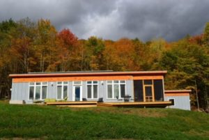 A super-insulated modular home