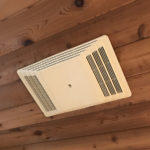 ceiling mounted electric heater