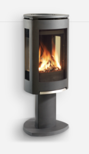 wall vented gas stove