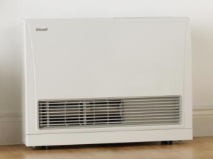 Wall-vented gas heater
