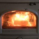 wood stove with Biobrick